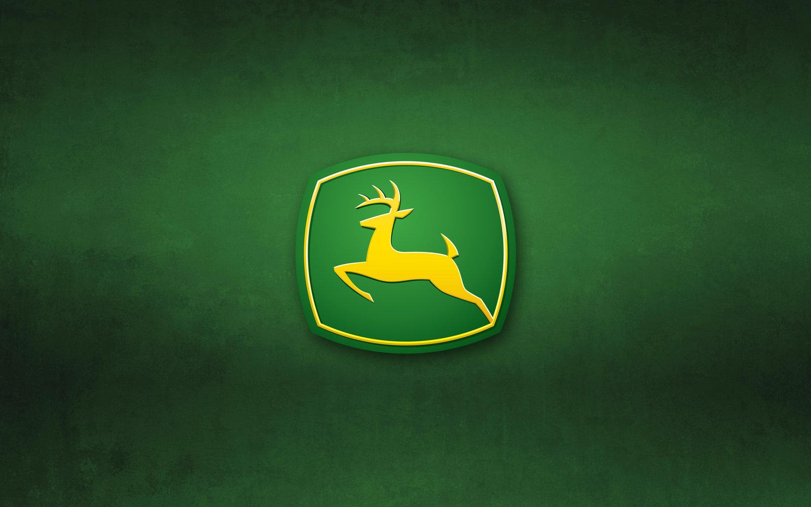 John Deere Logo Wallpaper by fictionalautumn 1600x1000