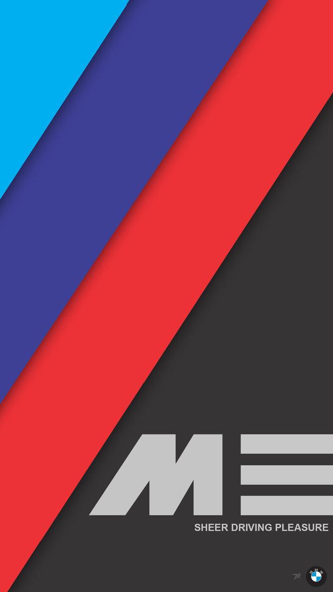 M Logo Wallpaper Mobile 2K Phone Wallpa...