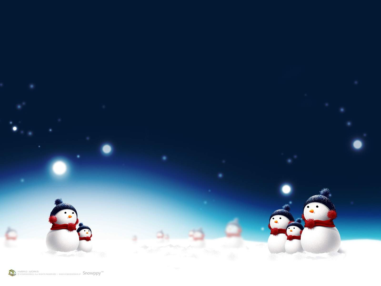 Christmas Wallpapers 3d 1600x1200