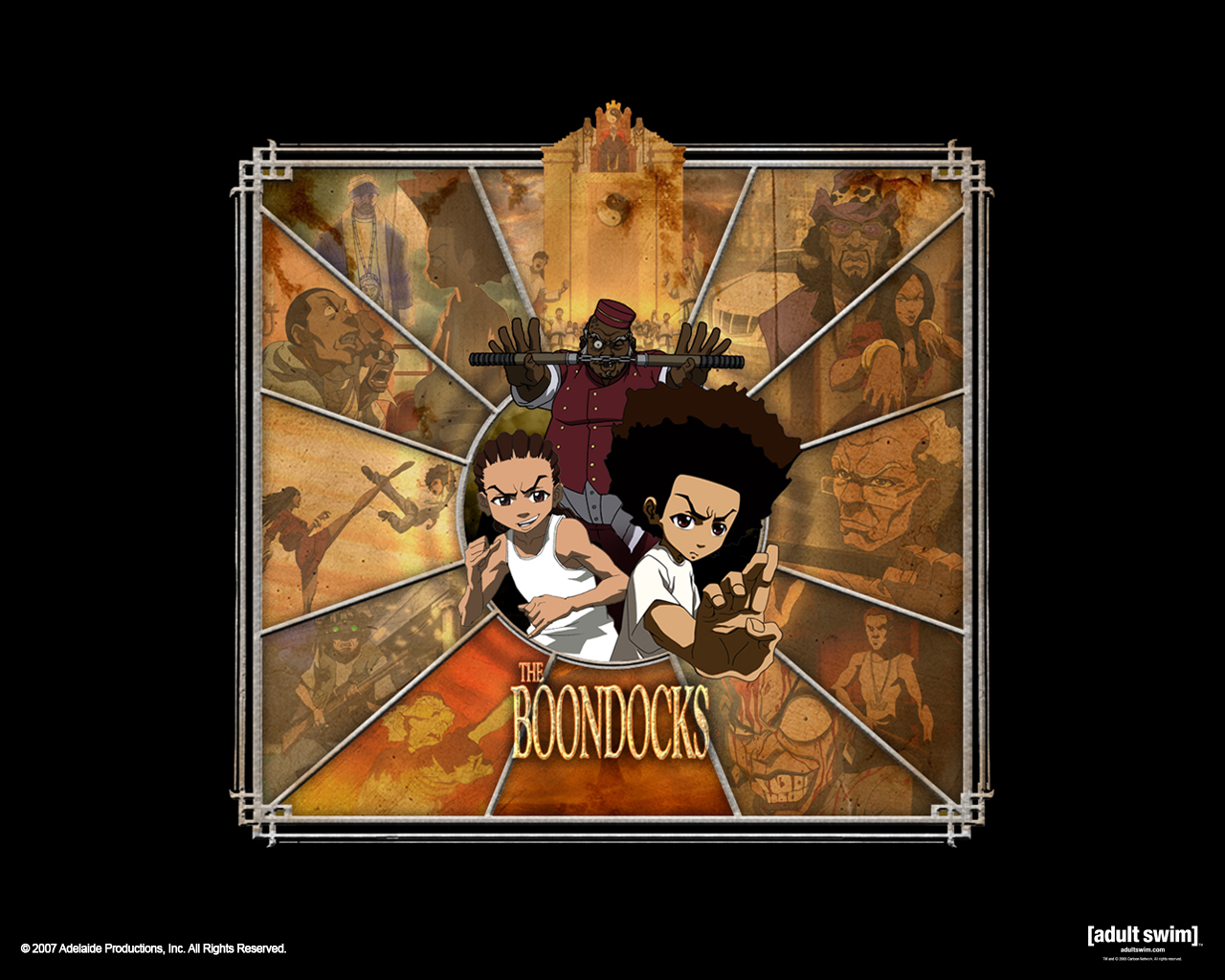 Download The Boondocks Desktop Wallpapers For Hd Widescreen