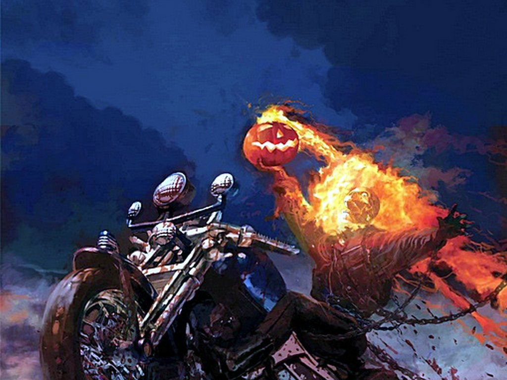 Blue Ghost Rider Wallpaper Comics   ghost rider 1024x768