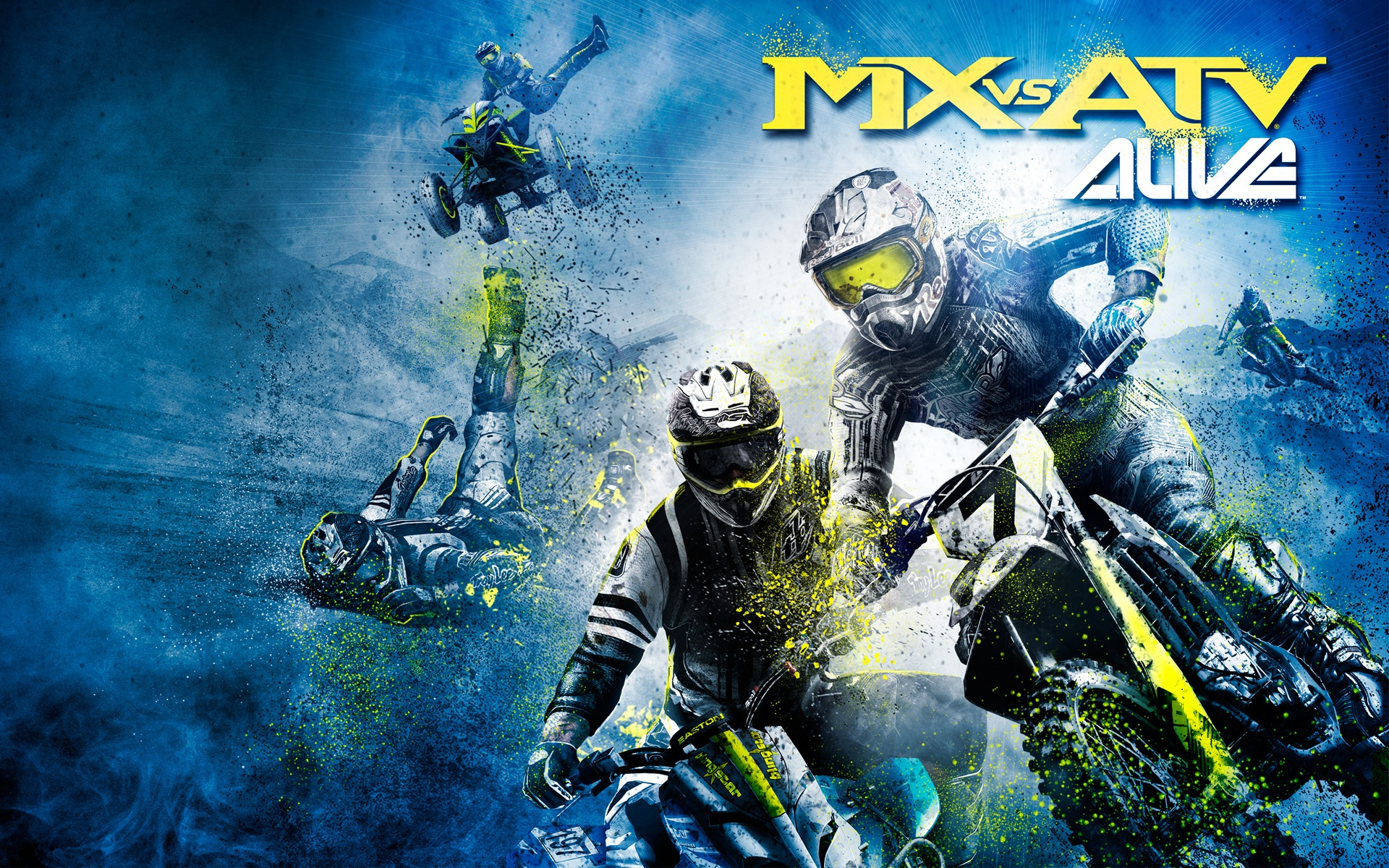 4 MX vs ATV Alive HD Wallpapers Backgrounds   Wallpaper 1920x1200