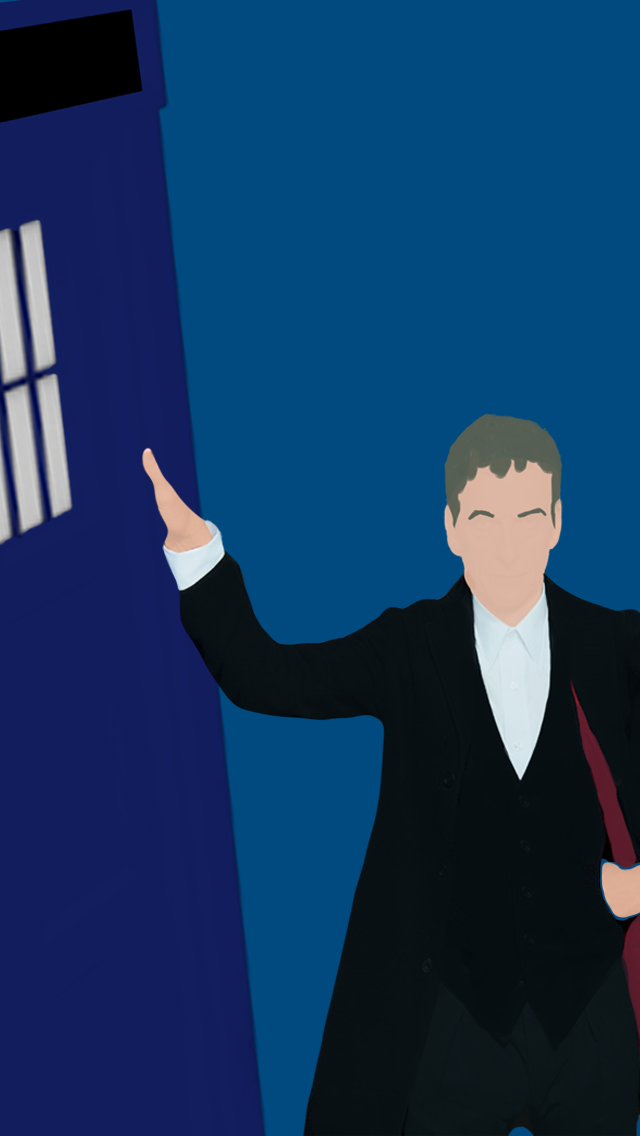 these minimalistic Season 8 Doctor Who wallpapers yBaX START 640x1136