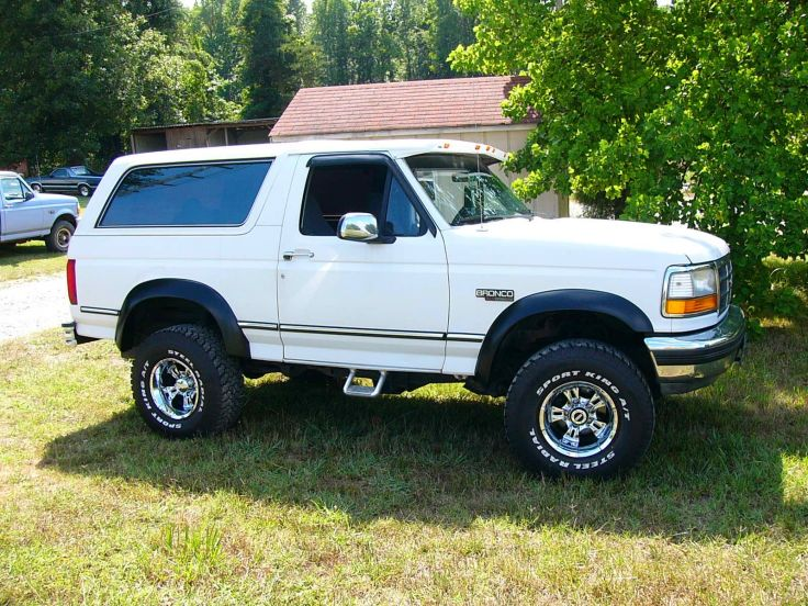 FORD BRONCO suv 4x4 truck wallpaper background 736x552