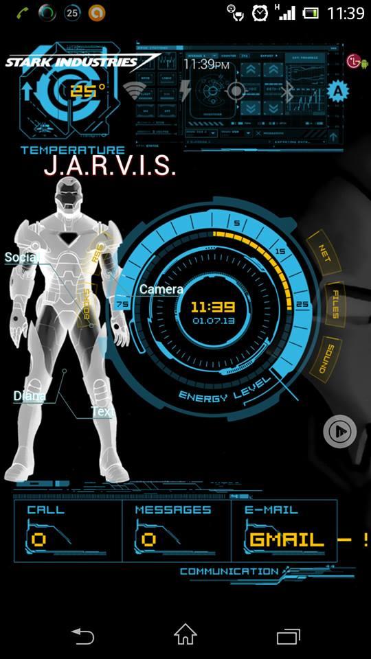 47+] Iron Man Jarvis Live Wallpaper on WallpaperSafari