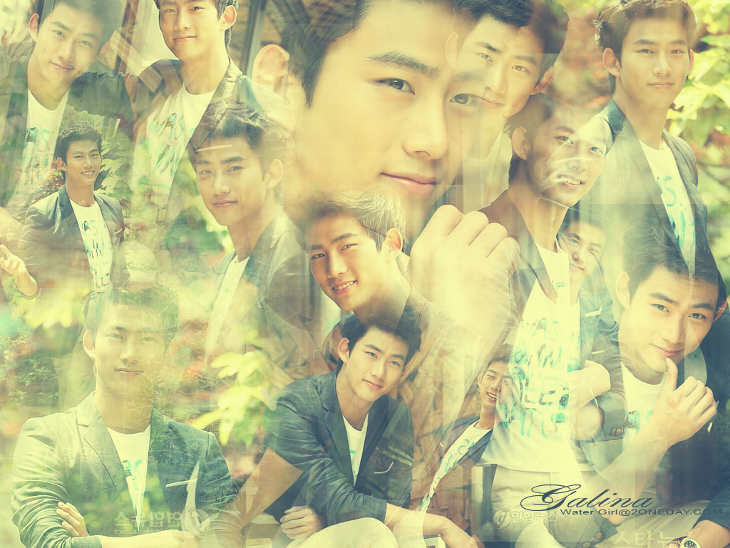 wallpaper Wallpaper Taecyeon 2pm 1024x768