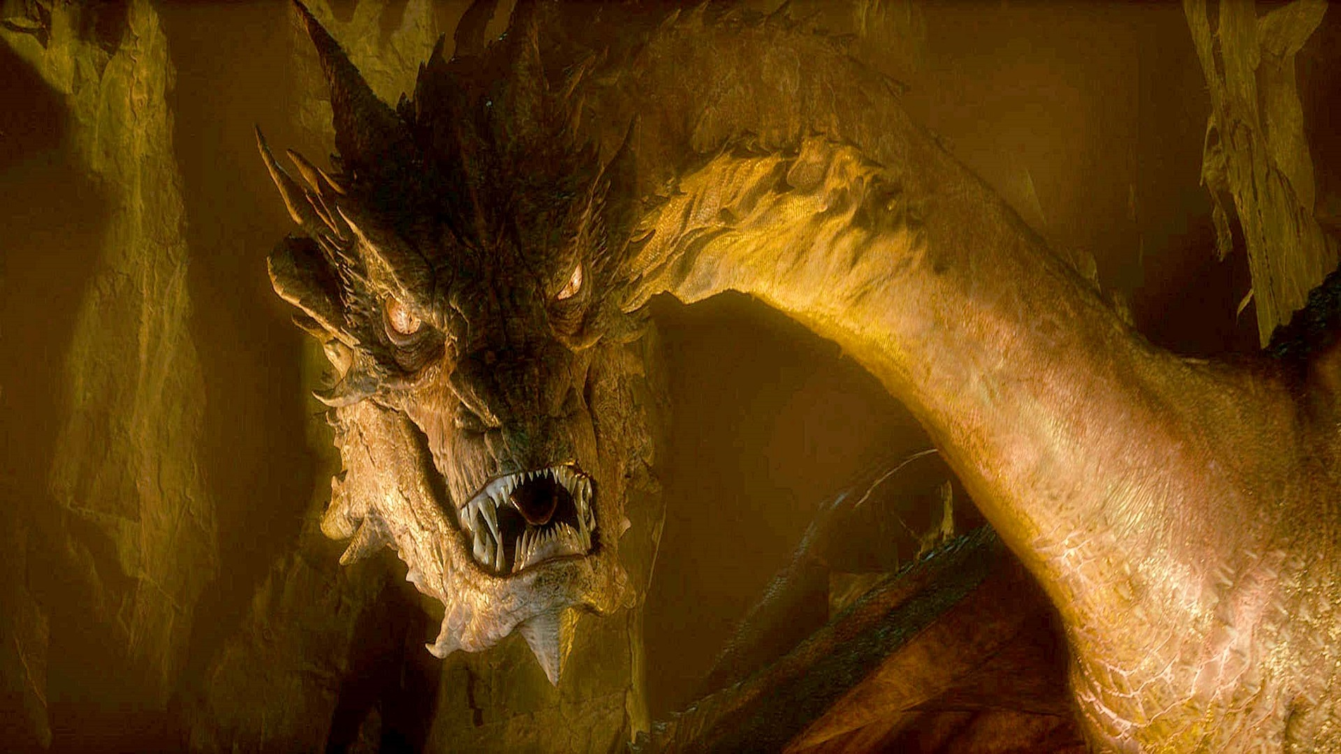 RSS feed Report content Smaug the Dragon Wallpaper view original 1920x1080