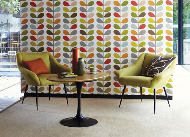Harlequin   Orla Kiely   Select Wallpaper Designer Wallpapers Direct 650x470