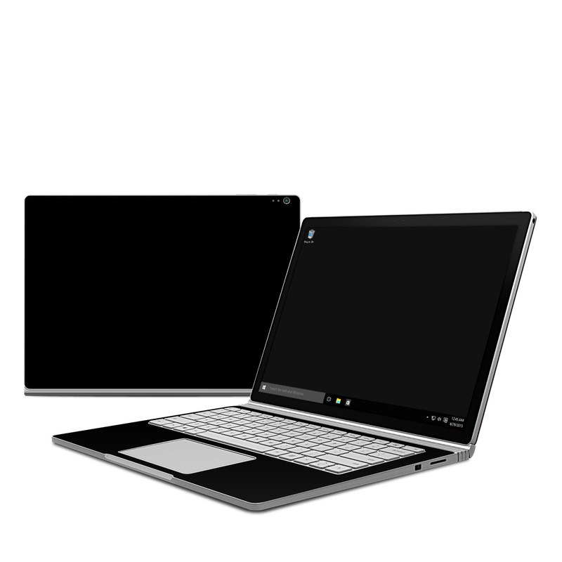 Microsoft Surface Book Skin   Solid State Black by Solid Colors 800x800