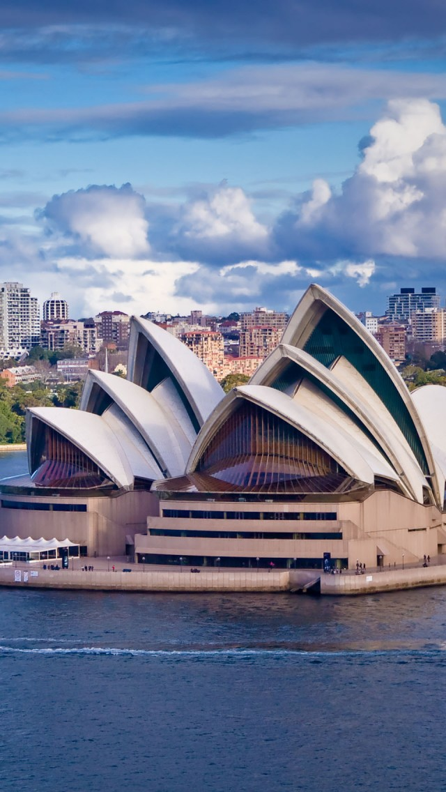 Sydney Opera House Wallpaper for iPhone 5 640x1136