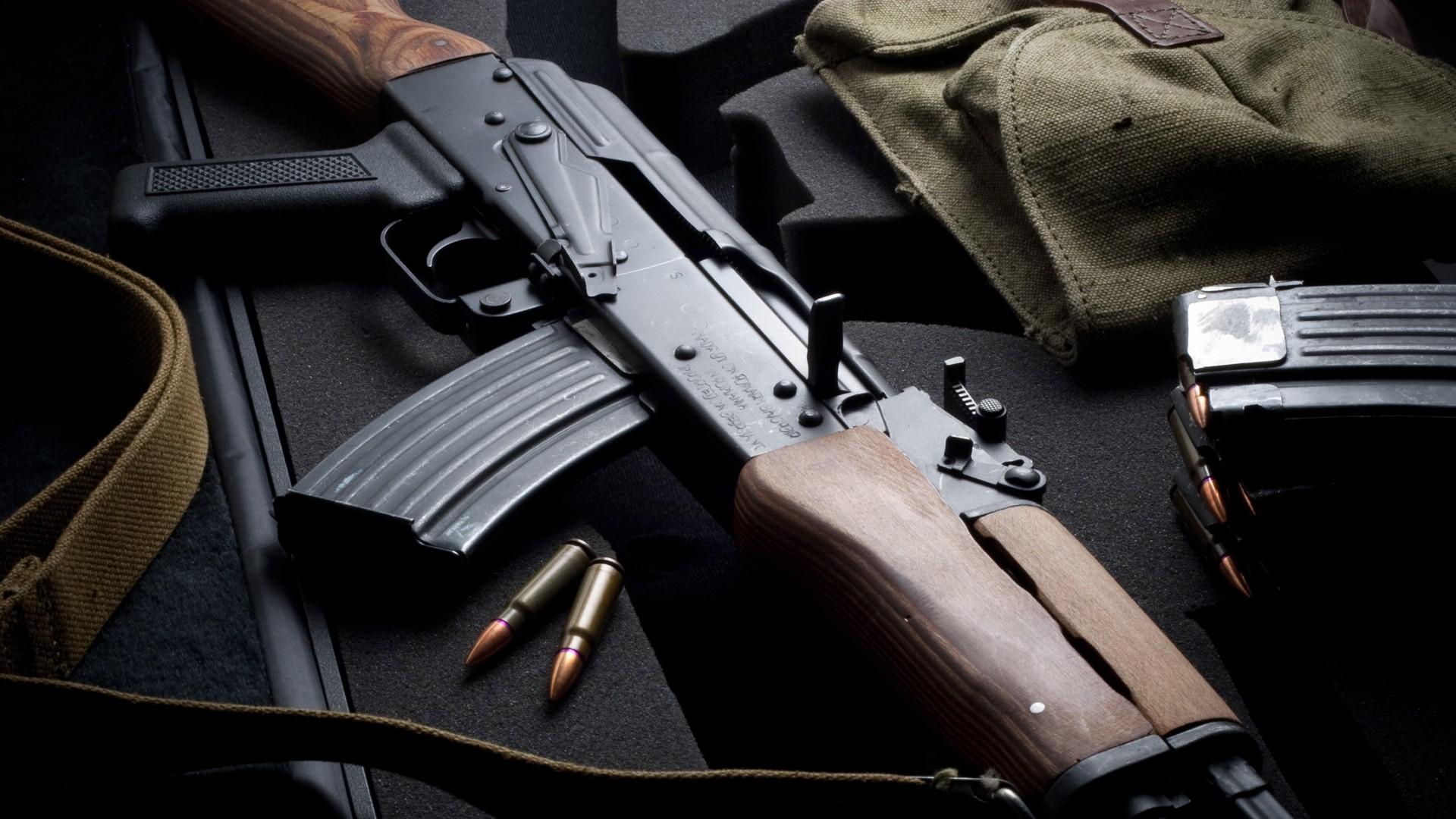 guns ak 47 kalashnikov HD Wallpapers   Triskelion Tactical 1920x1080