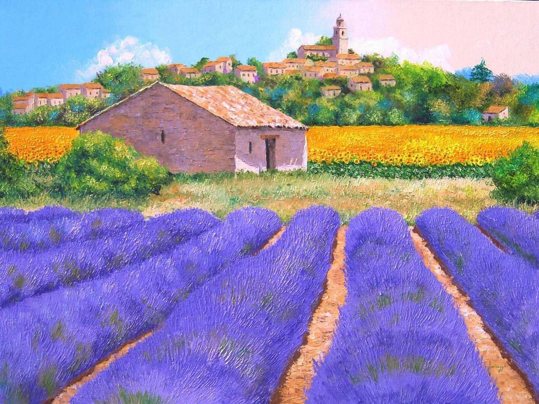Jean Marc Janiaczyk Dreamy Provence widescreen wallpaper Wide 1440x1080