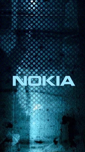 BLUE NOKIA LOGO 360x640