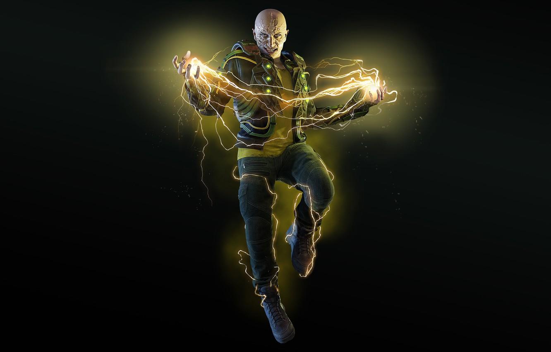 Wallpaper The game Electricity Zipper Electro Marvel Villain 1332x850