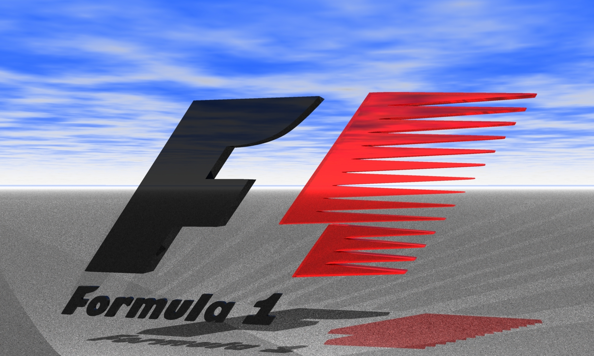 Formula 1 Logo Wallpapers HD The Art Mad Wallpapers 1900x1140
