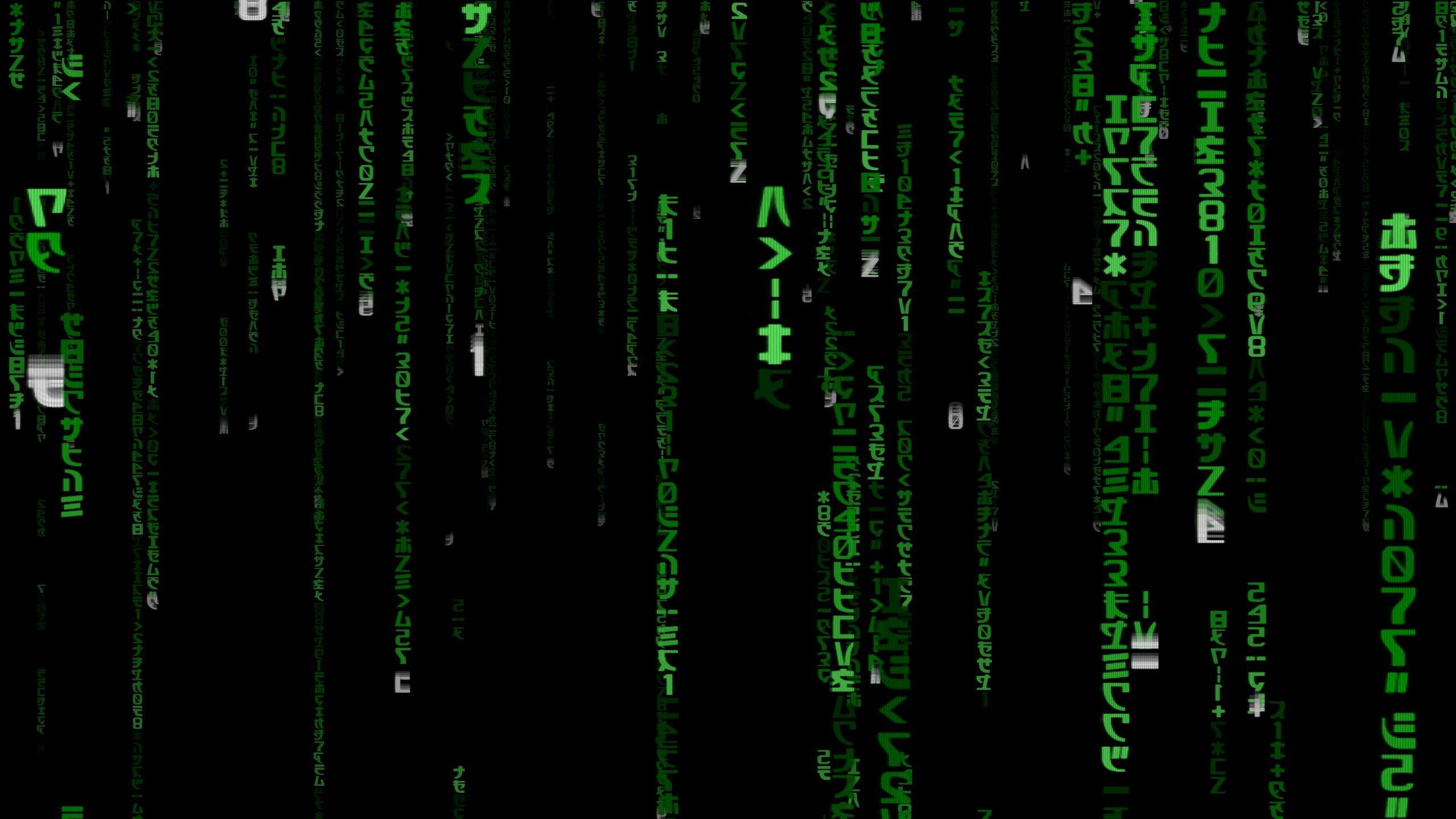 Screensaver wallpaper screen matrix   1296725 2560x1440