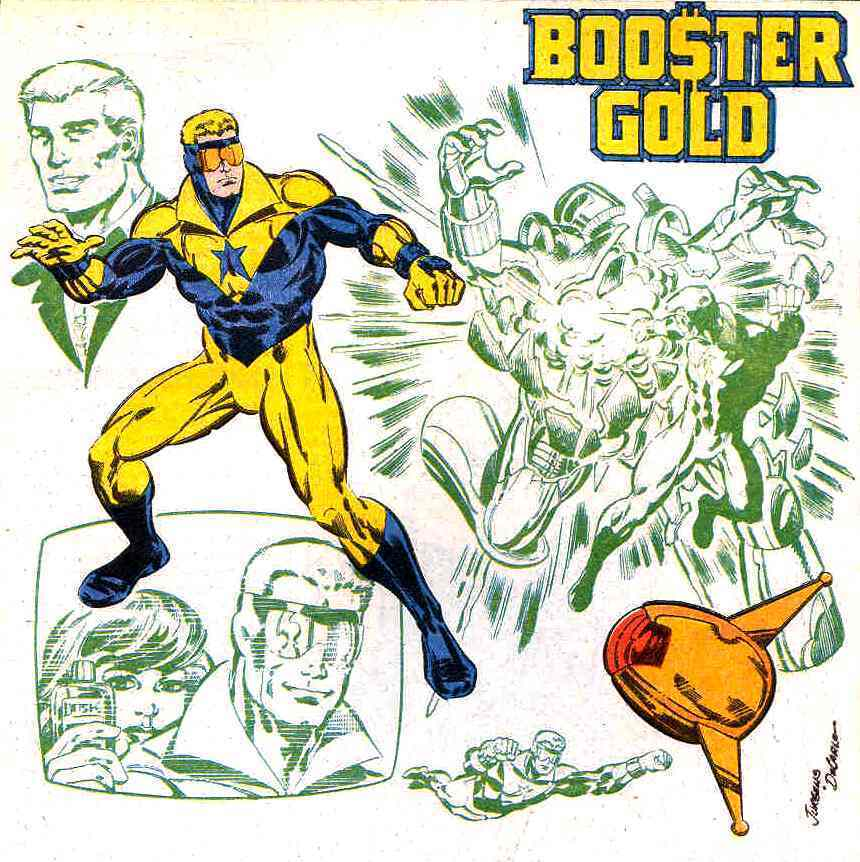 DC Comics images Booster Gold HD wallpaper and background photos 860x862