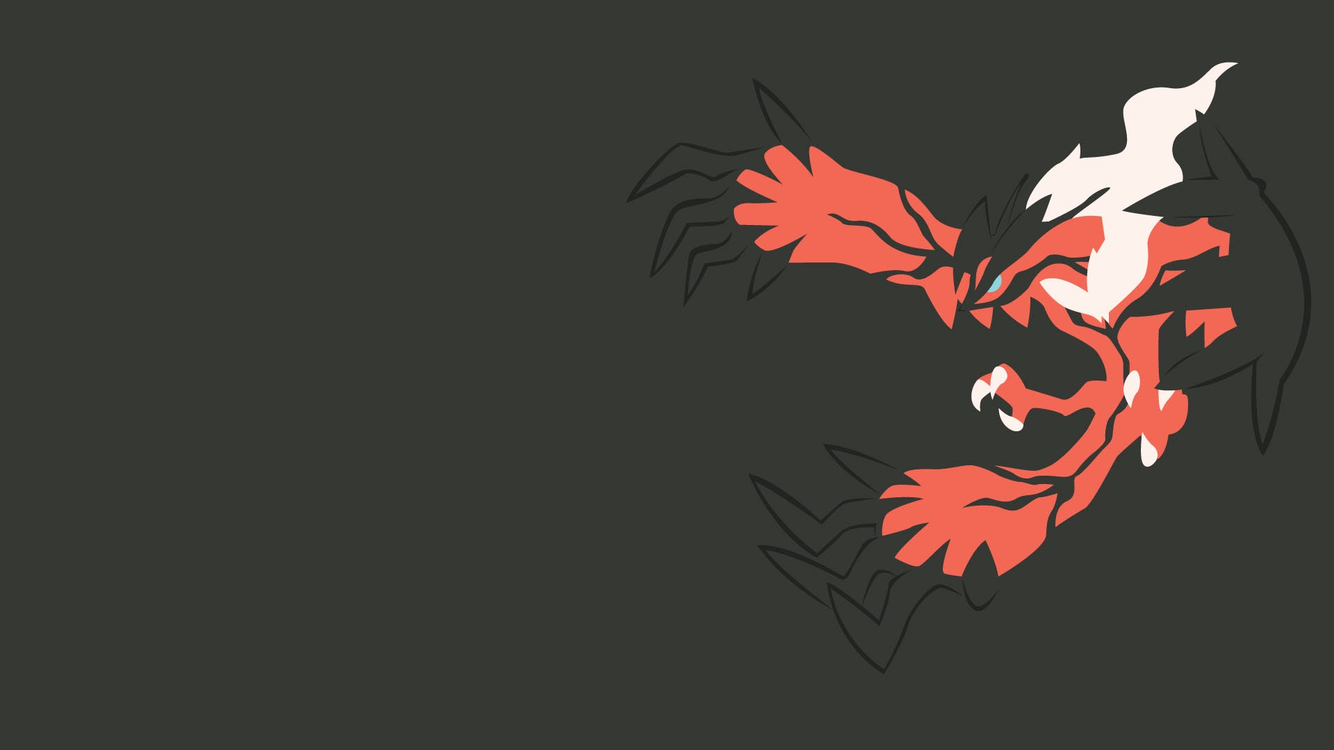 Yveltal Legendary Pokemon X Y Anime Hd Wallpaper 1920x1080 A299