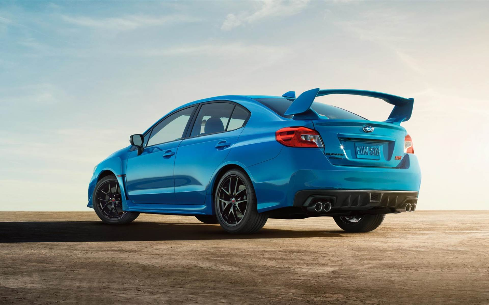 Reviews Subaru Introduces Limited Edition WRX STI SeriesHyperBlue 1920x1200