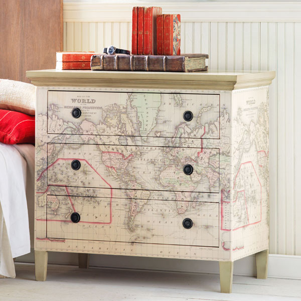 Free Download Decoupage Map Wallpaper Dressers Kids Map