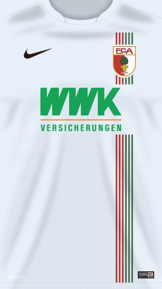 FC Augsburg of Germany wallpaper Stroje Pikarskie Fc 640x1137