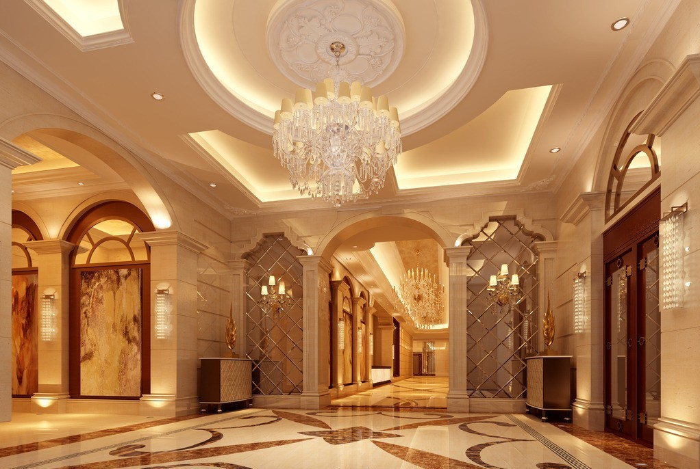 Free download Hotel lobby lighting design 3D house 3D house
