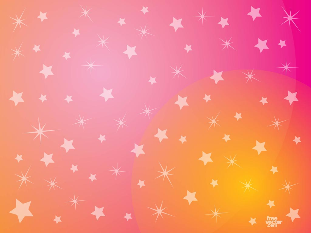 Pink Stars Background 1024x765