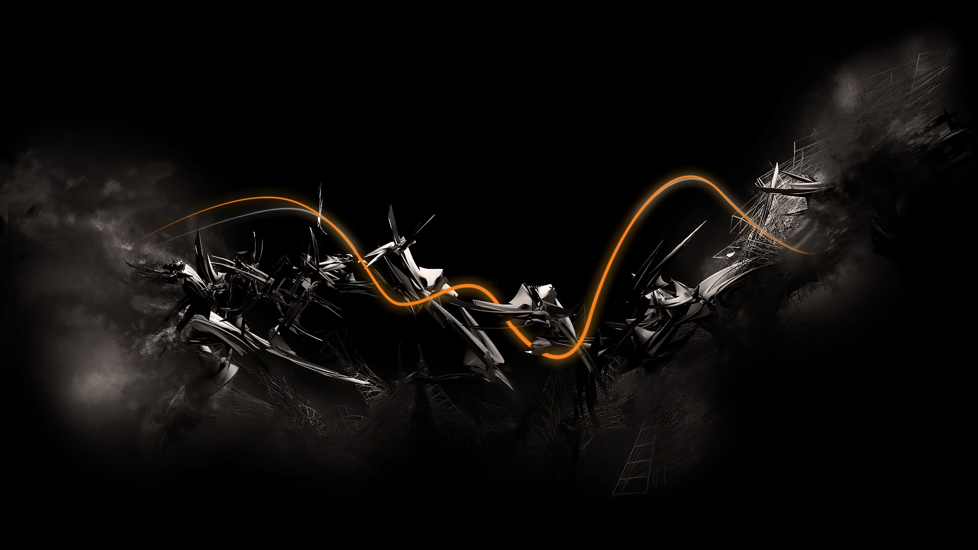 wallpapers abstract themed black awesome 1920x1080