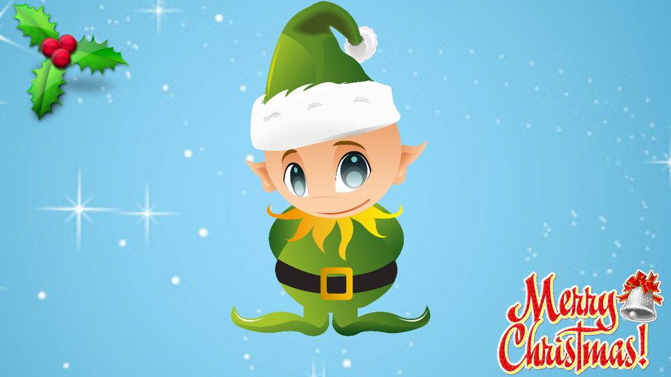Christmas Elves Wallpaper 969x545