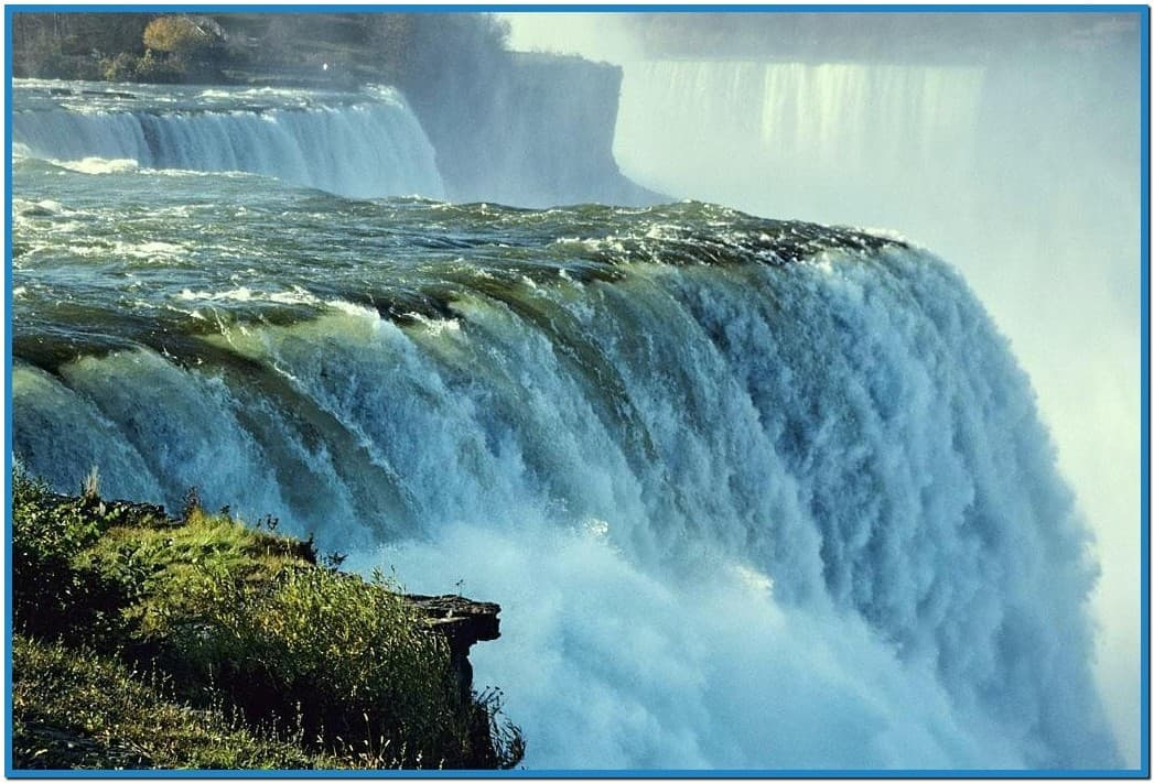 3D Animated Waterfalls Screensavers 1047x711