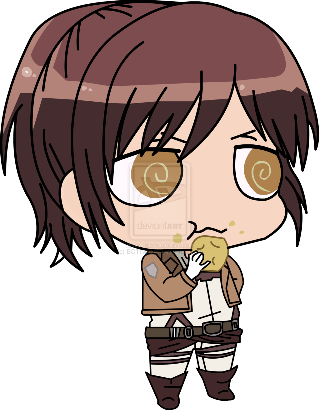 Showing Gallery For Attack On Titan Sasha Chibi Wallpaper 1024x1318