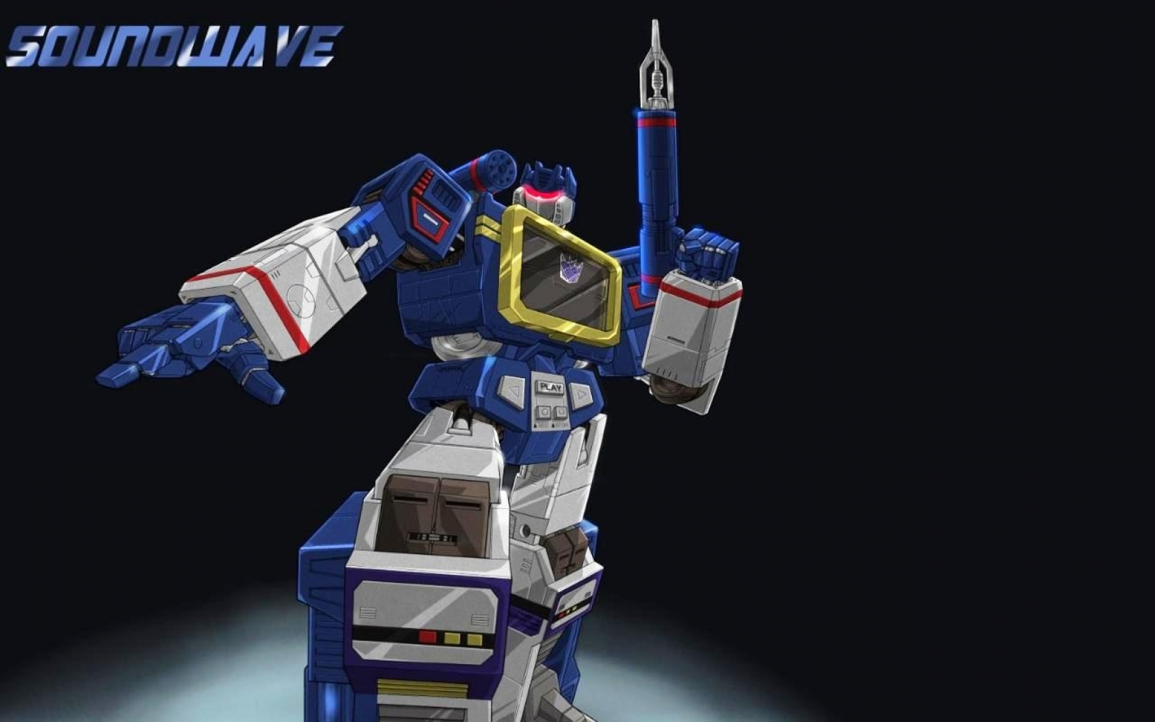 soundwave only transformer anyone needs soundwave 1280x800 wallpaper 1680x1050