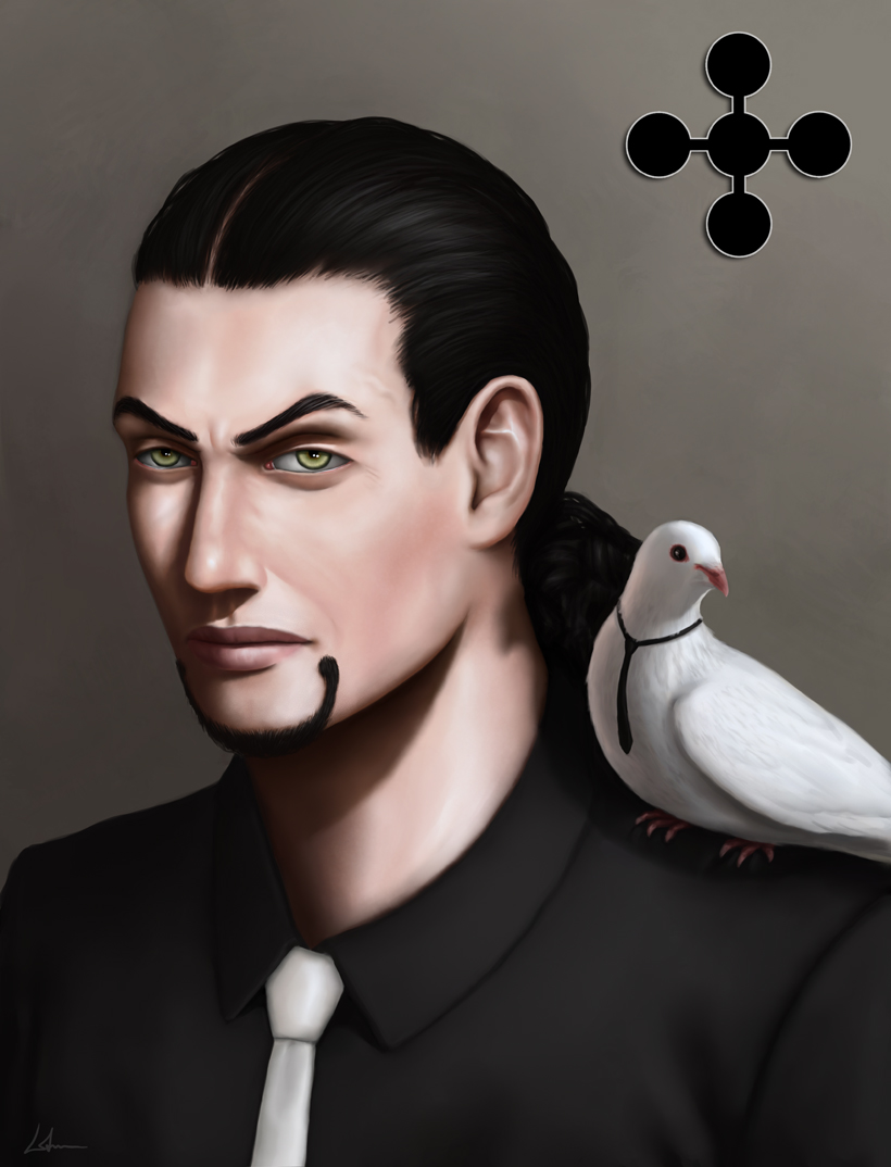 One Piece Villains Rob Lucci by 2tall4yall 820x1074