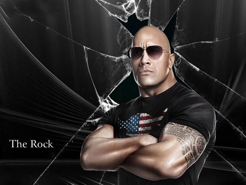 wallpaper Wallpaper Downloads WWE The Rock Wallpapers 2012 800x600