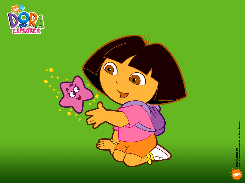 Green Dora the Explorer Wallpaper   Dora the Explorer 1024x768