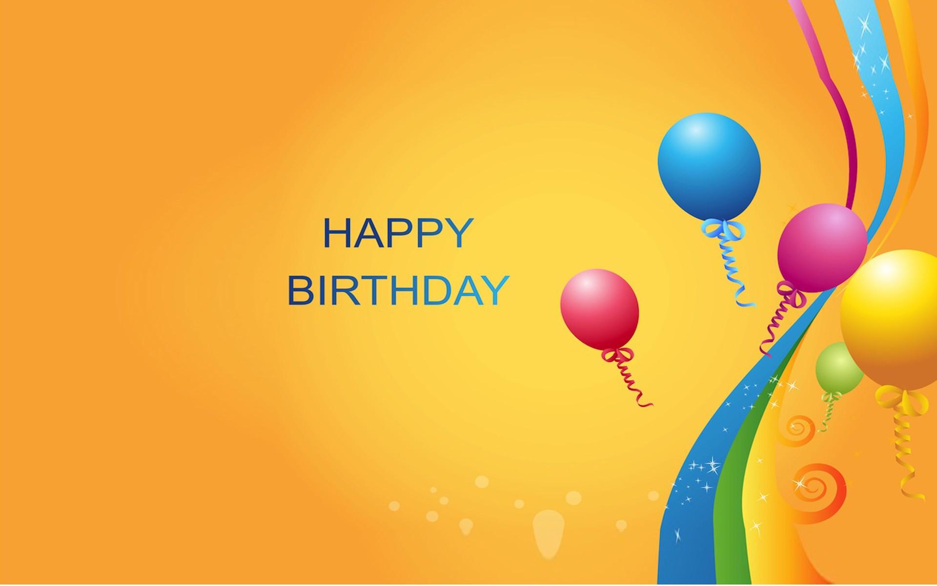 Happy Birthday Wallpaper HD 1920x1200