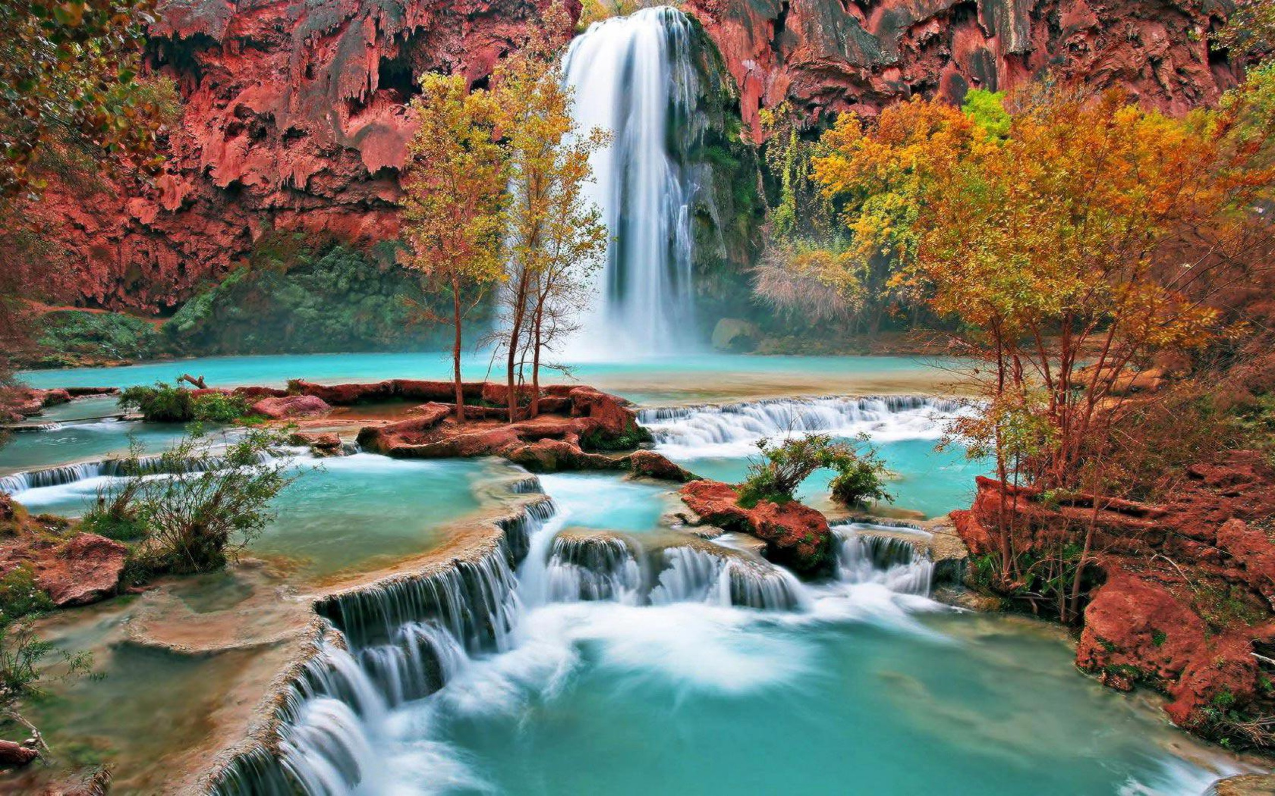 Beautiful Waterfall Pictures And Wallpapers 2560x1600