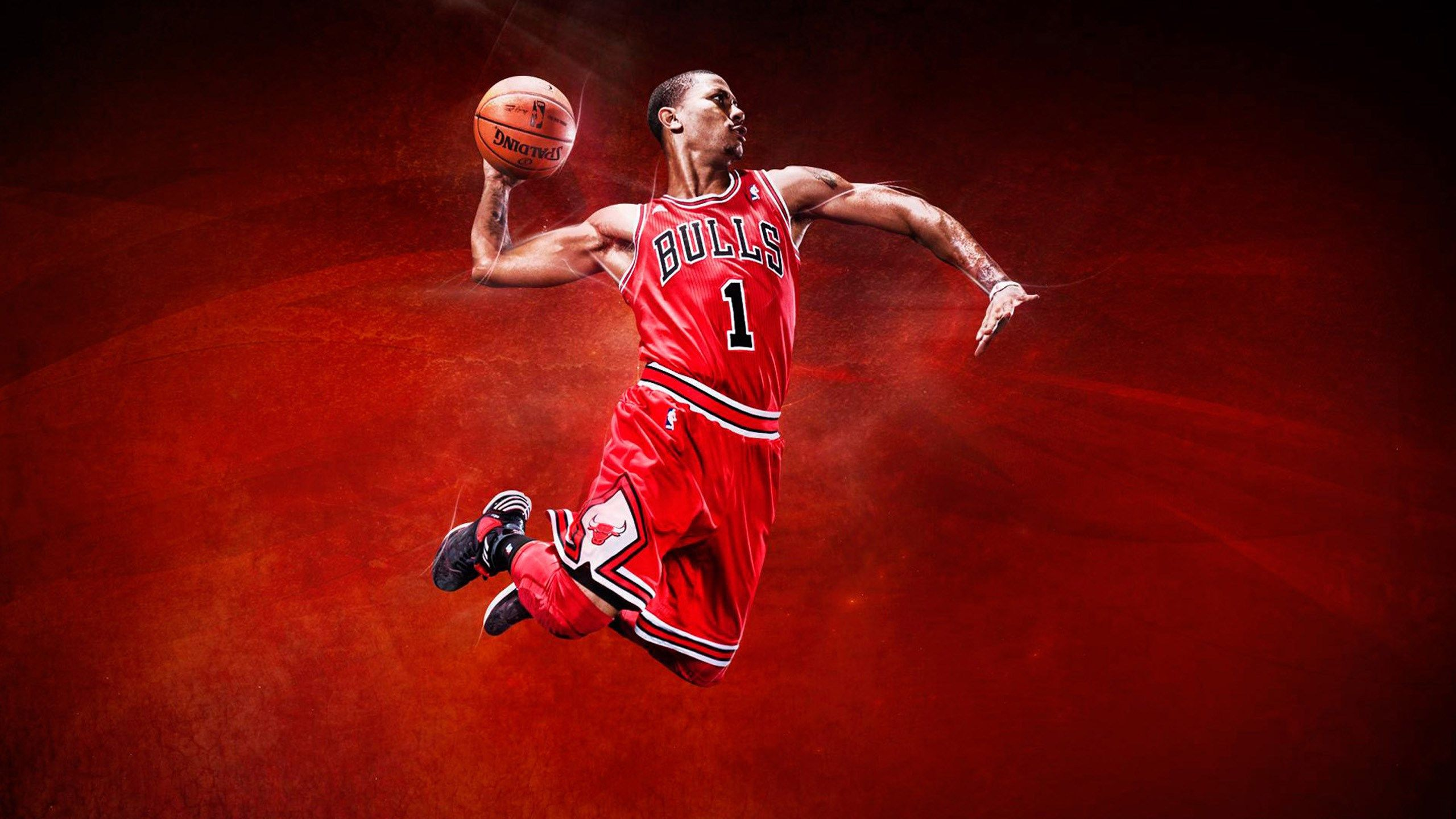 awesome basketball wallpapers backgrounds 2560x1440 Derrick rose 2560x1440