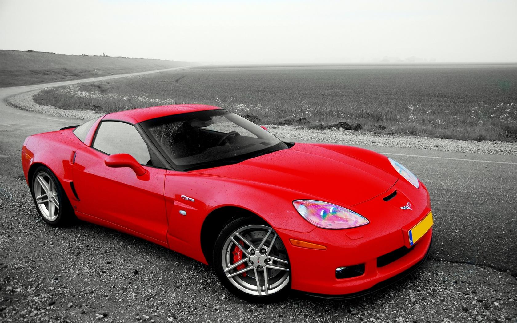 Chevrolet Corvette C6 Z06 Red   1680x1050   674908 1680x1050