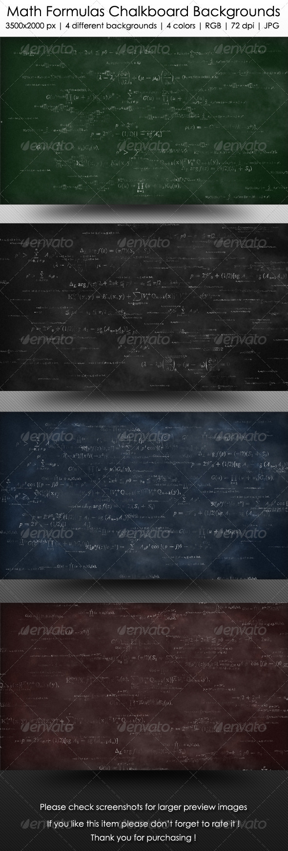 Math Formulas Chalkboard Backgrounds   Education Backgrounds 590x1739