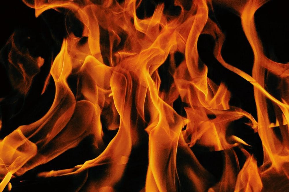 orange and yellow fire digital wallpaper photo Fire Image 1000x666