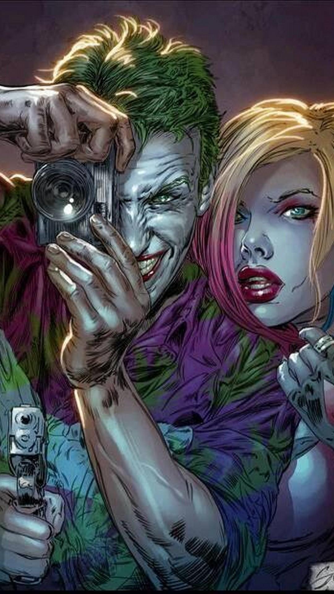 Free Joker And Harley Wallpaper IPhone 2019 3D