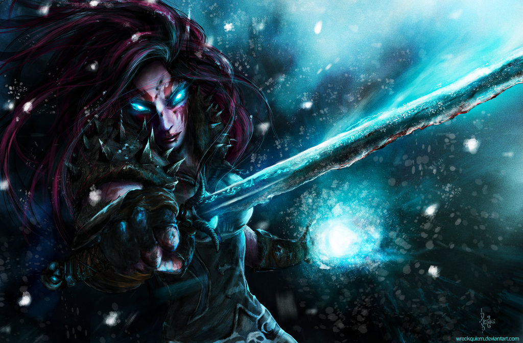 ORC Death Knight Wallpaper - WallpaperSafari