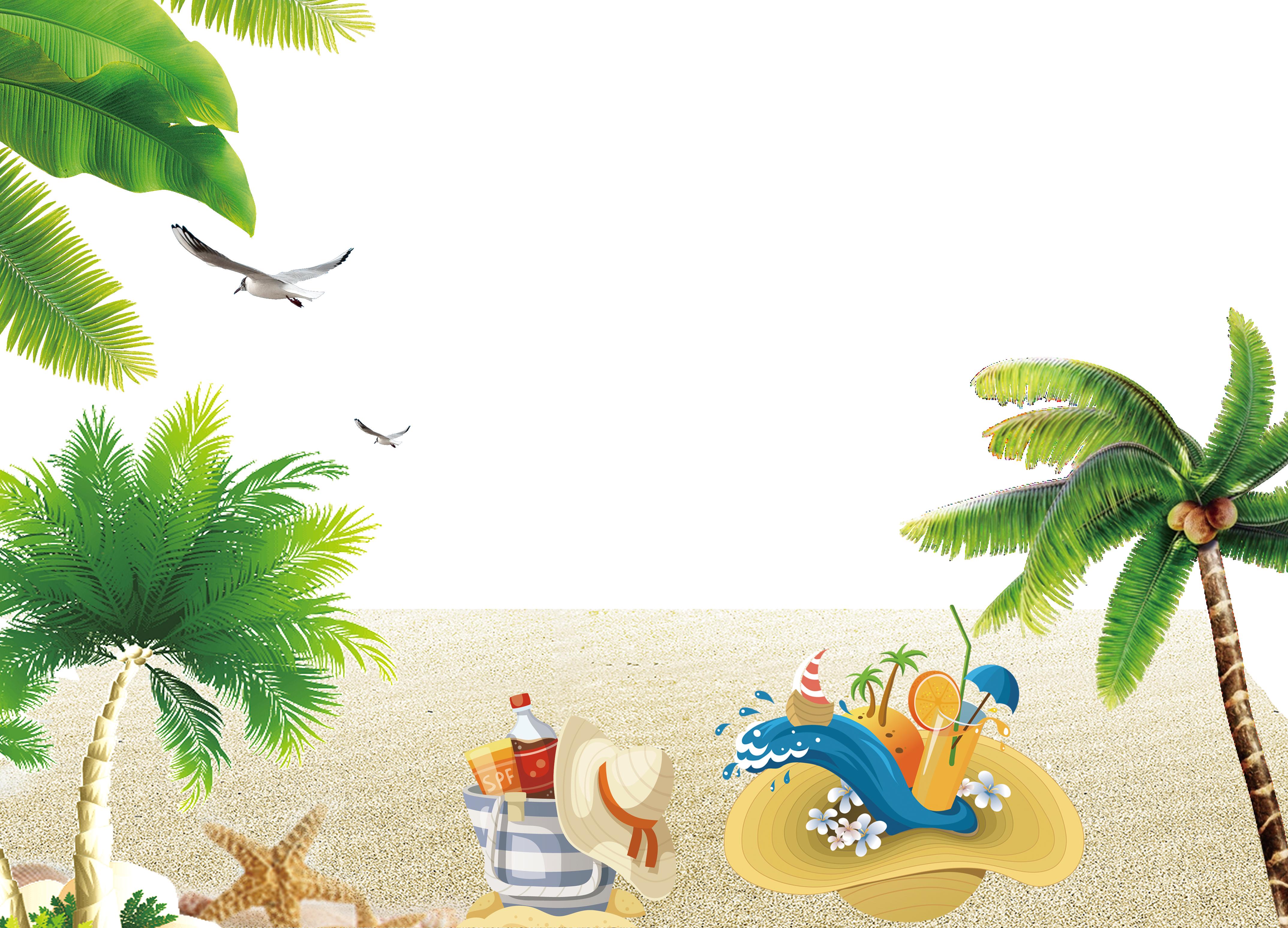 Download Resort Wallpaper Beach Summer Clipart HD Clipart PNG 4295x3095