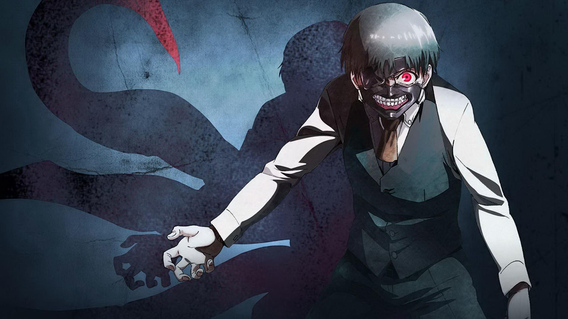 ken kaneki tokyo ghoul anime mask character hd 1920x1080 1080p and 1920x1080
