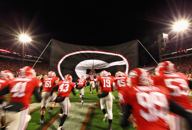 Georgia Bulldogs Football Team Georgia bulldogs football 650x440