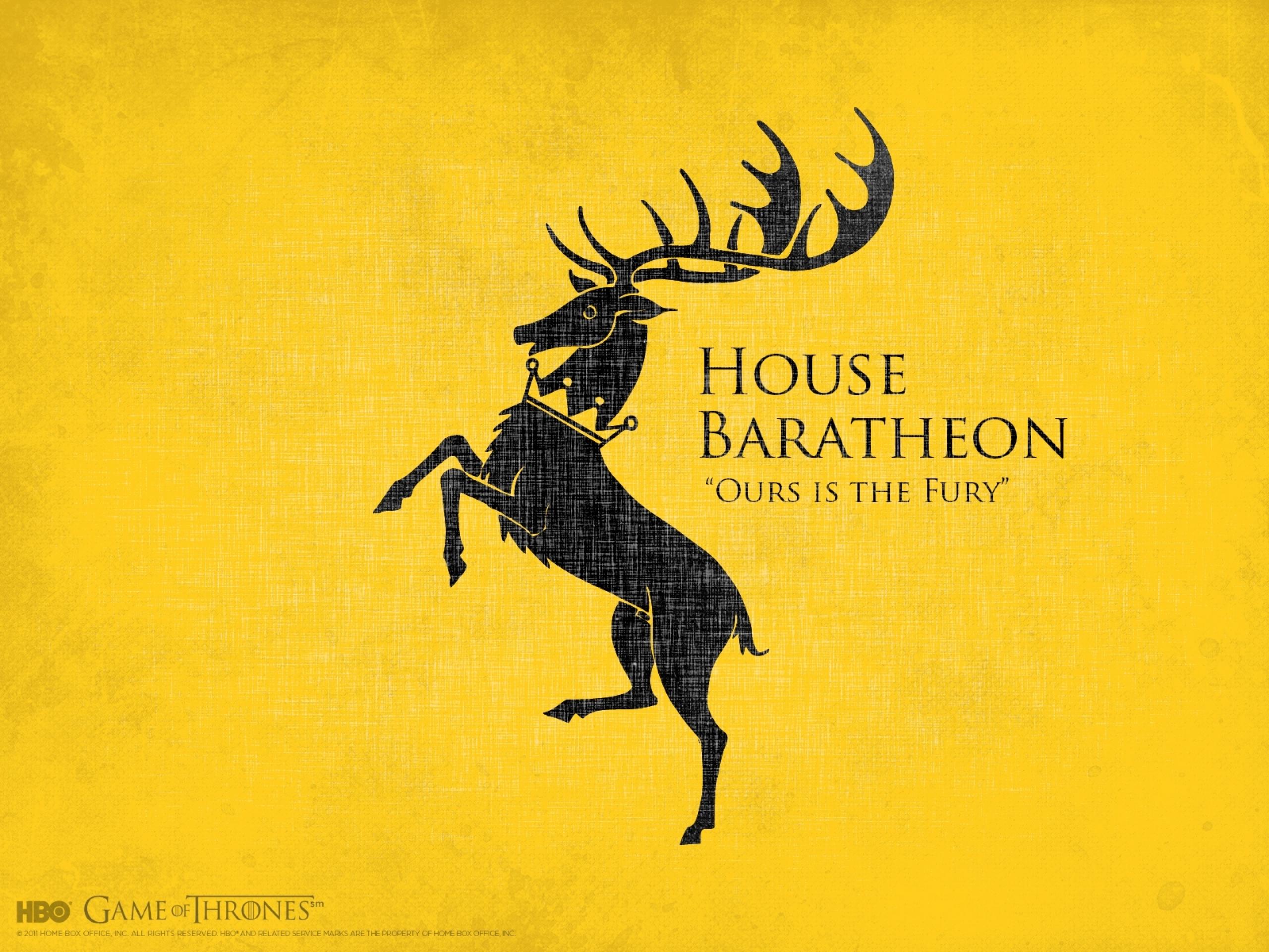 series arms house baratheon 1600x1200 wallpaper Wallpaper 2560x1920