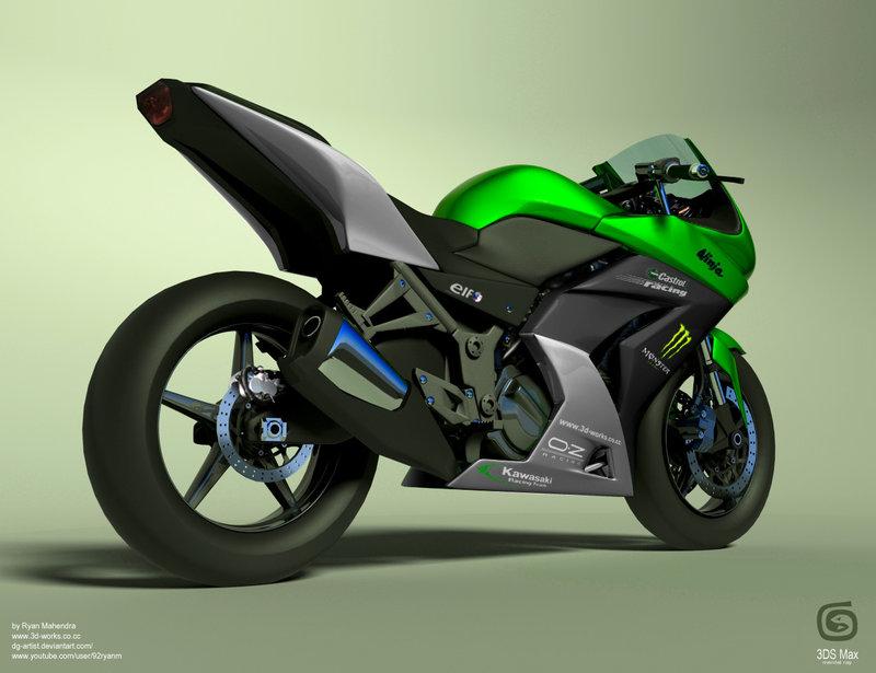 Free Download Kawasaki Ninja 250r By Ryan Mahendra 800x615
