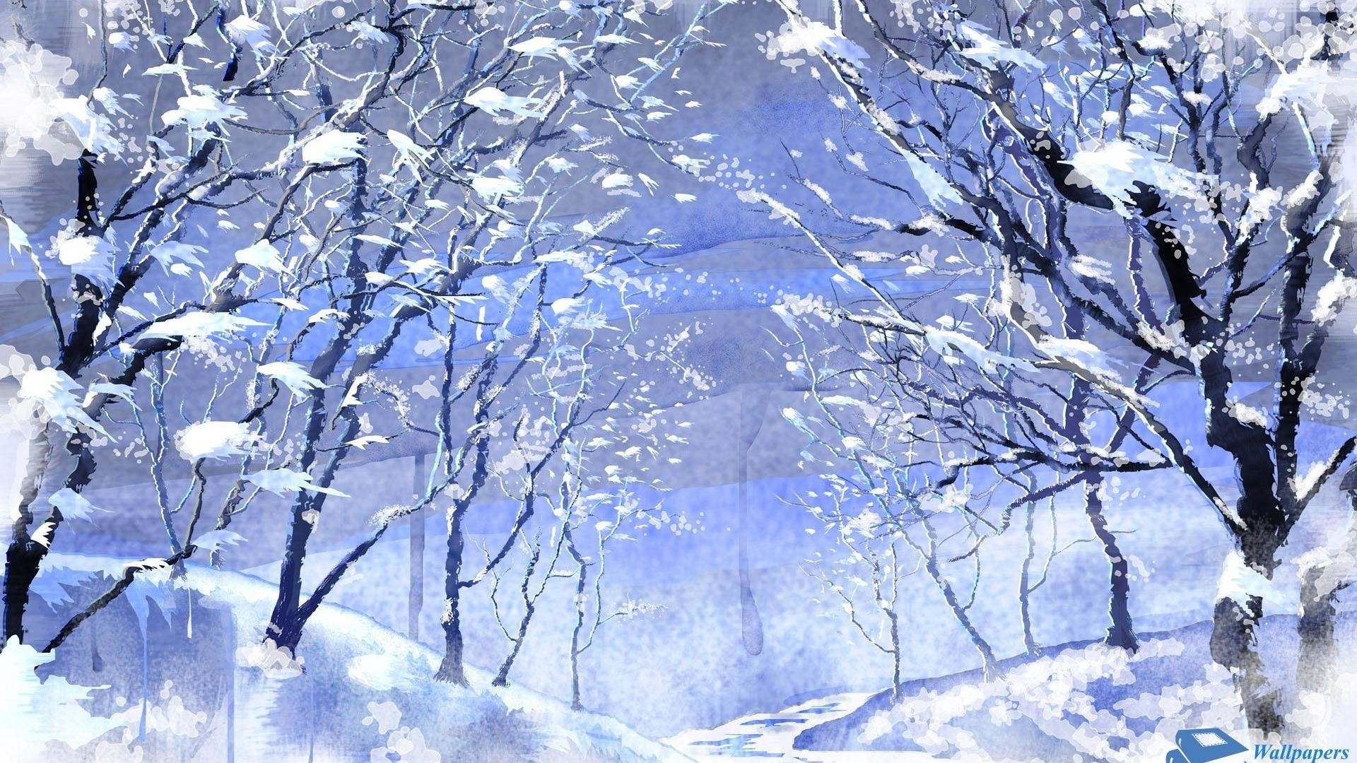 Beautiful Winter Backgrounds 51 images 1920x1080