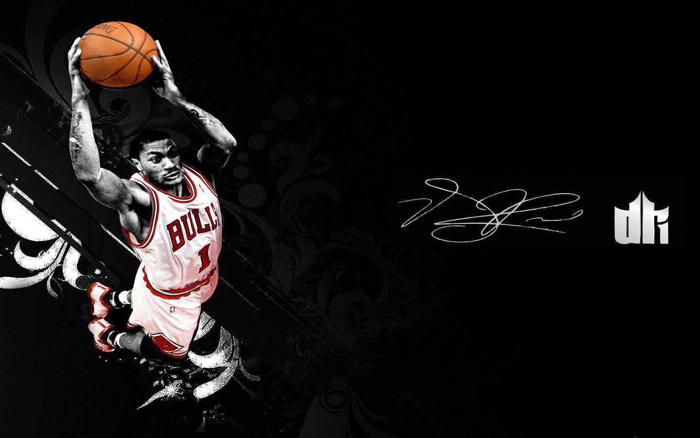 Derrick Rose Logo Wallpapers 1440x900